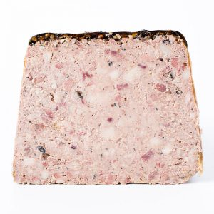 Pate de campagne with black pepper