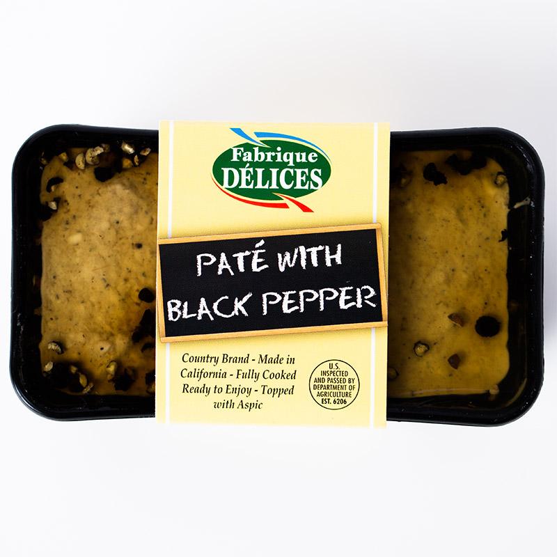 Pâté with Black Pepper Retail