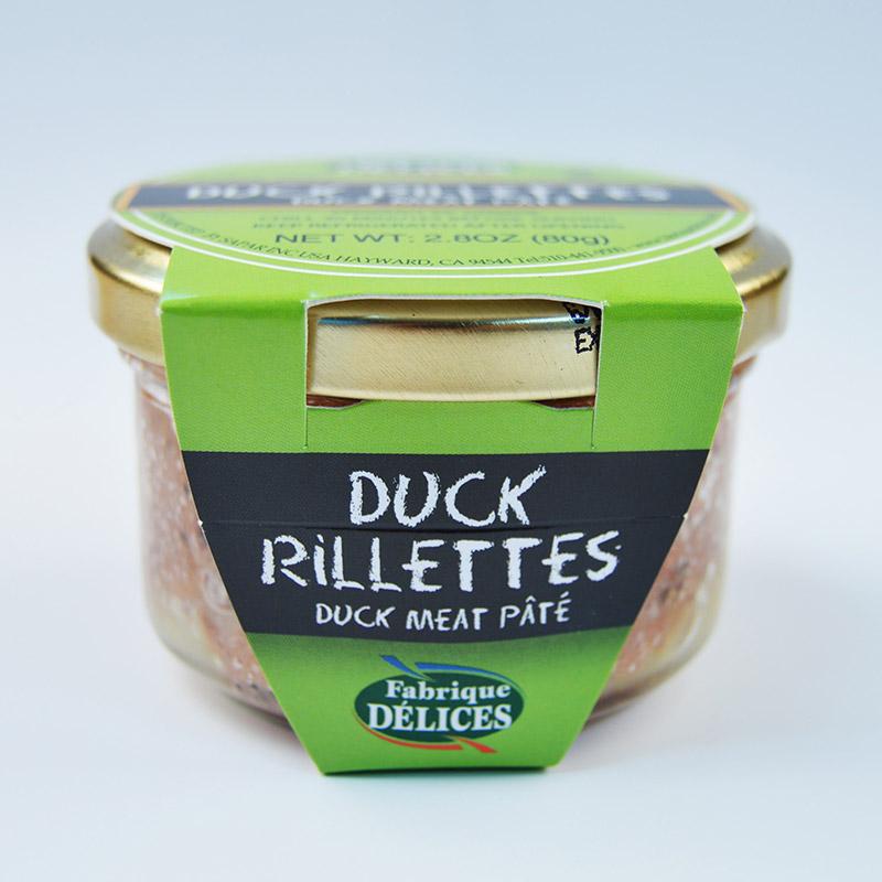 Duck Rillettes - Shelf-Stable