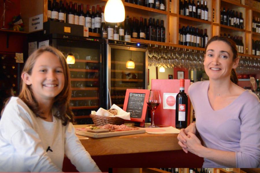 Meet Alexandra, at Etcetera Wine Bar