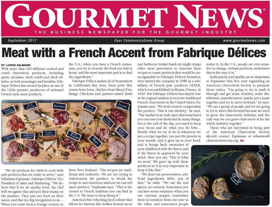 Meat with a French Accent from Fabrique Délices